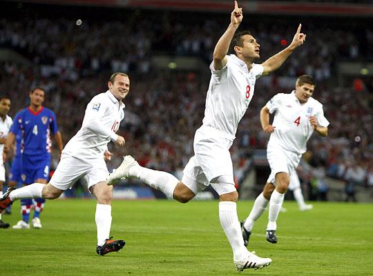 Könyedén nyertek az angolok (Fotó: Reuters)