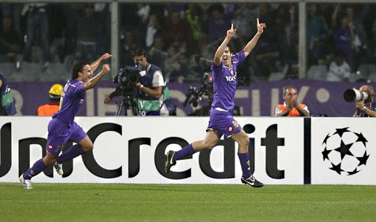 Jovetic (jobbra) két találata a Liverpool vereségét jelentette (fotó: Reuters)