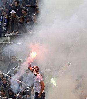 Életkép egy Zenit–CSZKA meccsről (Fotó: Action Images)
