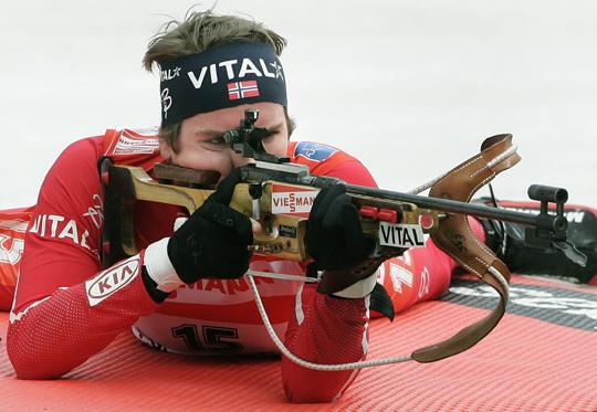 Svendsen tizenkettedik vk-sikerét aratta Östersunban (Fotó: Reuters)