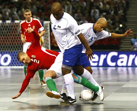 Sergio Luís (4-es) szerezte a második azeri gólt