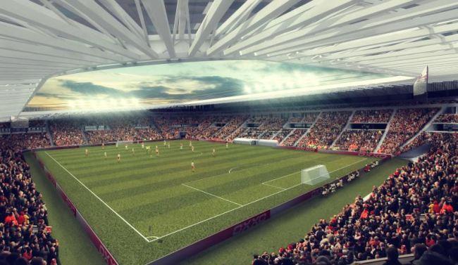 DVSC  bemutatták az új Nagyerdei Stadion látványterveit - fotók - N 90900f1968