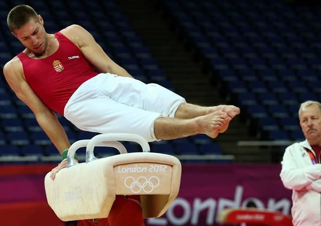 Tökéletes gyakorlat a londoni olimpián - Berki Krisztián