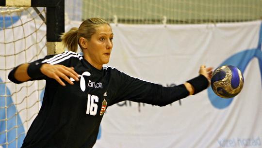 Pálinger Katalin bravúros védéseivel döntő érdemeket mondhat magáénak a svédországi sikerből (Fotó: Czagány Balázs, NS-archív)