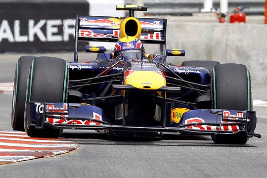 Mark Webber indulhat az élről a vasárnapi futamon (Fotó: Reuters)