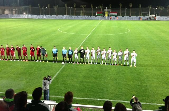 Belekben mérkőzik meg a magyar válogatott Fehéroroszországgal (fotó: Borbola Bence)