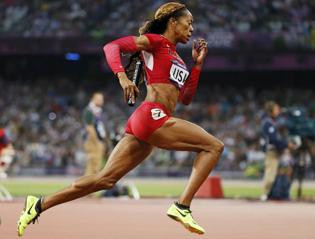 Sanya Richards-Ross is indul a Gyulai-emlékversenyen