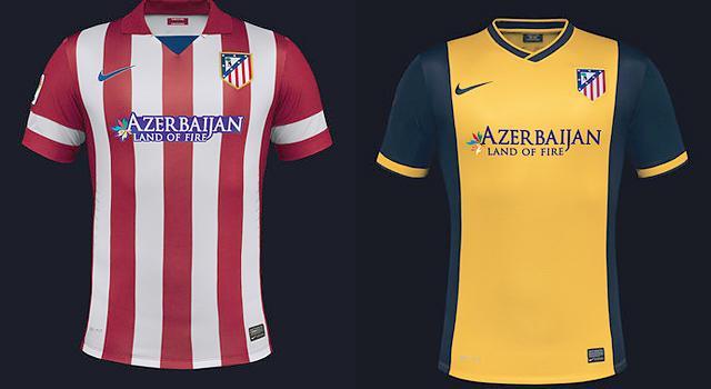 Atlético Madrid  sárga-sötétkék az idegenbeli mez - fotó - NSO 6171753a17