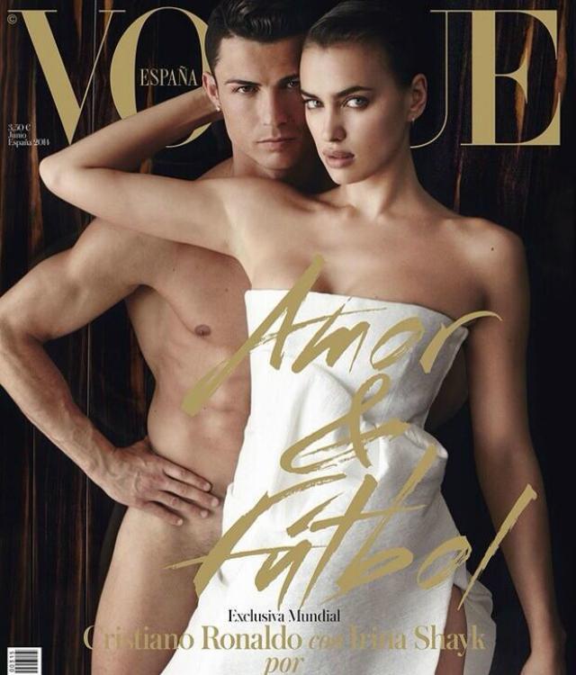 A portugál klasszis a spanyol Vogue címlapján villantott a szokásosnál  többet (Fotó  101greatgoals.com) 9d5a6218dc