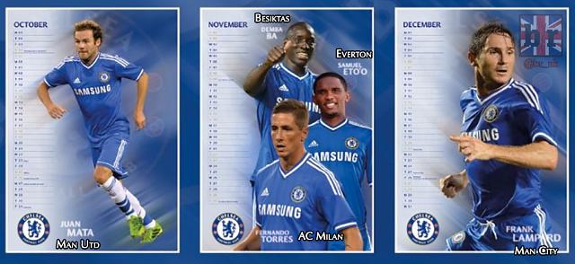 chelsea naptár Mindenki lelépett a 2014 es Chelsea naptár utolsó negyedévéről   NS chelsea naptár