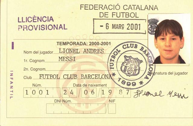Barcelona: Lionel Messi 14 éve érkezett a katalánokhoz