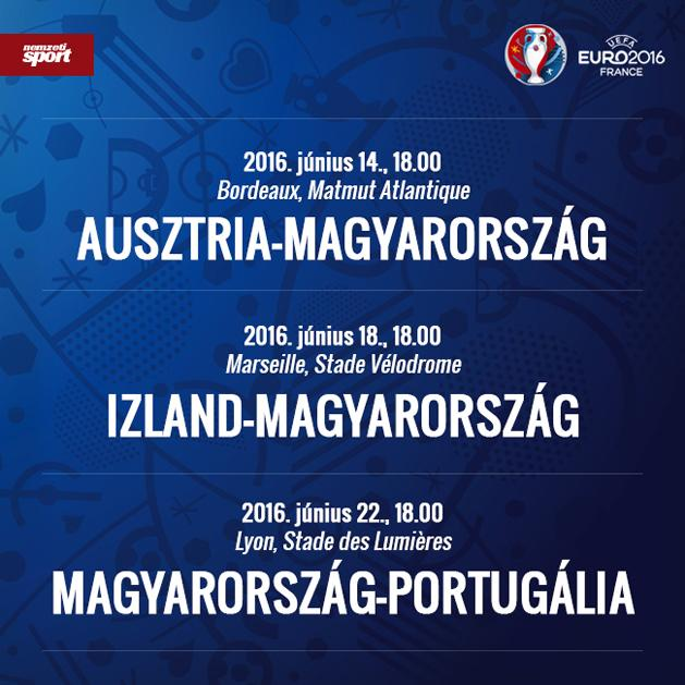 foci eb naptár Eb 2016: nem halálcsoport a magyar csapaté, de milyen erős?   NSO foci eb naptár