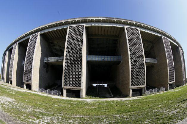 A jellegzetes pilonok az új stadionnál is jelen lesznek. A GALÉRIÁÉRT  KATTINTSON A KÉPRE! (FOTÓK  SZABÓ MIKLÓS) e18fcf543b