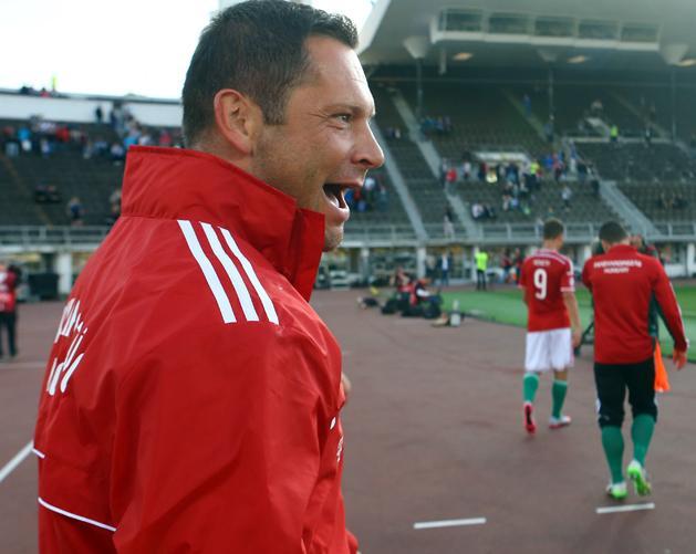 Dárdai Pál öt mérkőzésen tizenegy pontot szerzett a válogatottal az  Eb-selejtezőkön (Fotó  Korponai Tamás) 942440dfac
