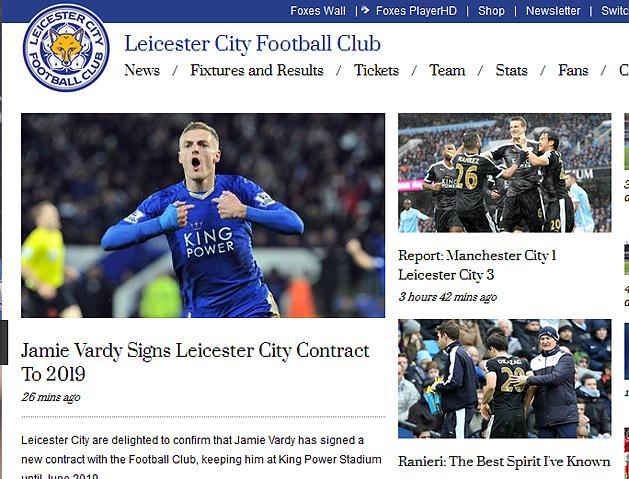 Leicester: Jamie Vardy 2019-ig hosszabbított – hivatalos