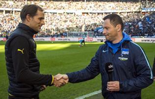 Bundesliga: Az első félidőben megleptük a Borussiát – Dárdai