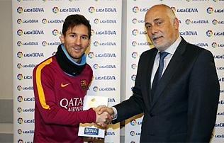 La Liga: Messi lett a hónap legjobb játékosa – először