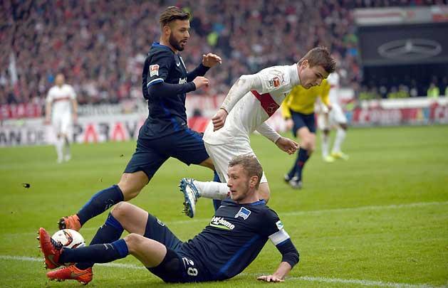 Bundesliga: megt�rt a sz�ria, kikapott a D�rdai-csapat