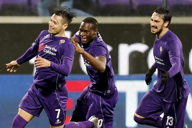 Serie A: Babacar a 91. percben s�llyesztette el az Intert