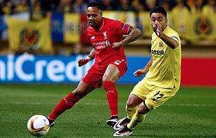 A v�g�n szerzett el�nyt a Villarreal a Liverpool ellen