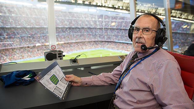 """Barcelona: 78 évesen elhunyt a """"Camp Nou hangja"""""""