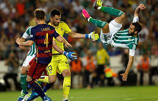 La Liga: a Barcelona hozta a k�telez�t t�z ember ellen