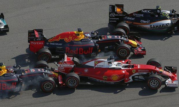 F1: Vettel–Kvjat 2.0 – a német és a Red Bull is csalódott
