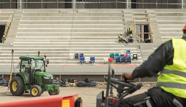 MTK: itt tart az új stadion építése – fotók