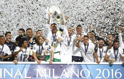 A v�gletekig k�zd�ttek. A Real Madrid 11-edszer Eur�pa tetej�n