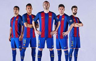Barca: bemutatták az új mezt, a BEK-győzelemre emlékeznek – fotók