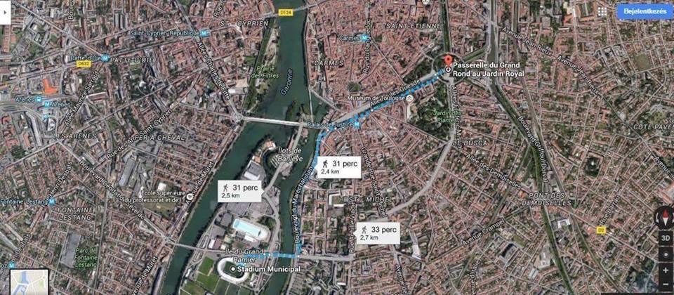 Eb 2016: megszervezt�k, lesz stadionhoz vonul�s Toulouse-ban