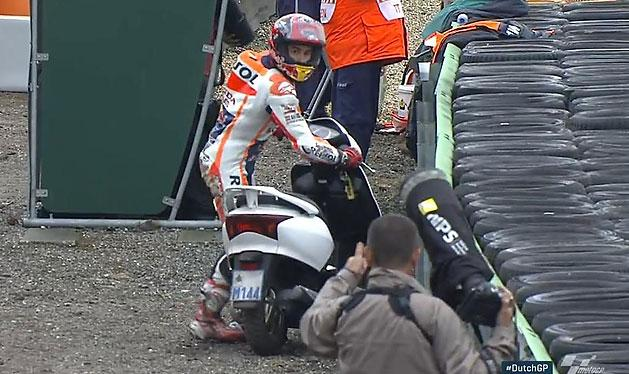 Moto GP: 12 es�s m�sf�l �ra alatt, no �s egy motorlop�s!