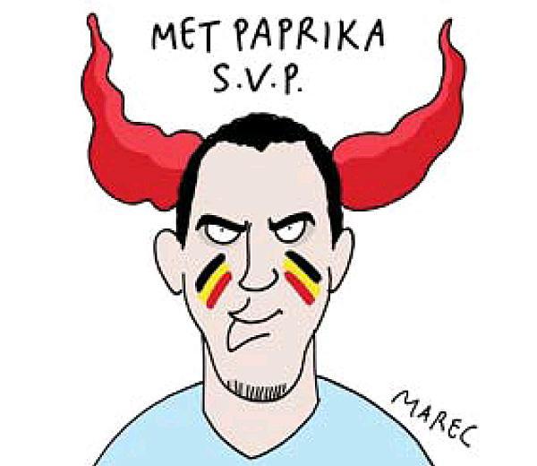 """Eb 2016: """"halálos figyelmeztetéssel"""" hangol a belga lap"""
