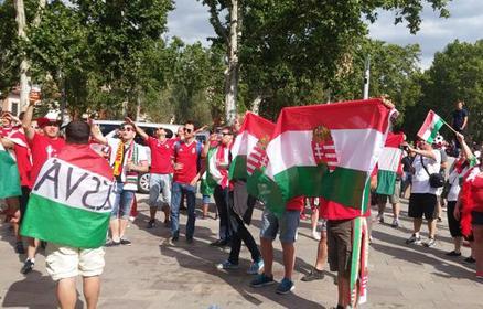Eb 2016: Toulouse ma magyar – így vonultak a szurkolók a stadionig