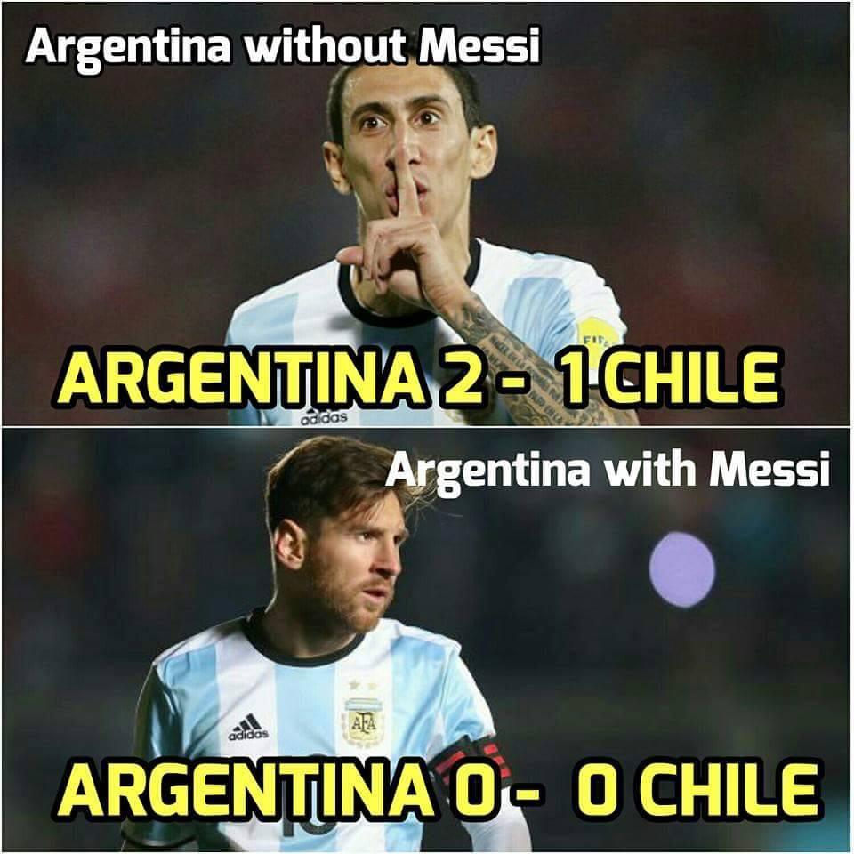 Copa: az első korona nélküli király; az űrben a labda – Messi-mémek