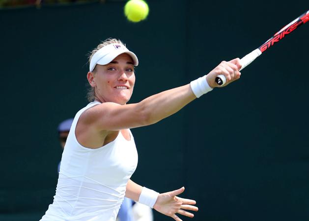 Wimbledon: Babos T�me�nak nem okozott gondot az 1. fordul�