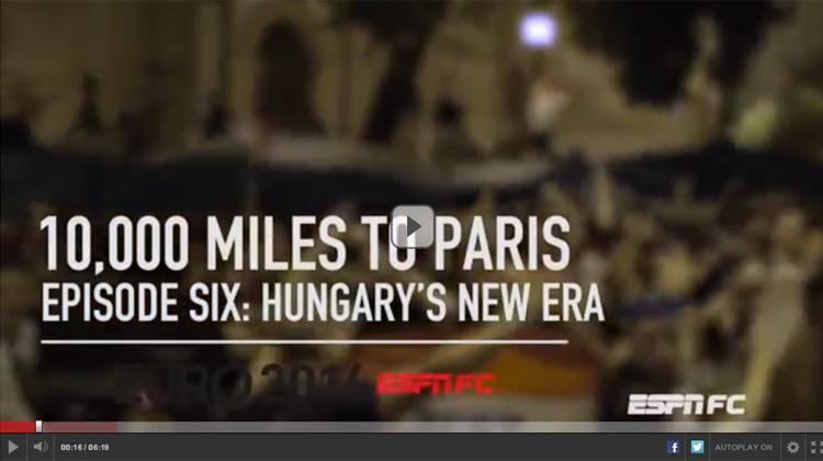 Eb 2016: az ESPN csod�latos vide�t k�sz�tett a magyar Eb-szerepl�sr�l