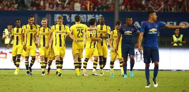 Felkészülés: a Dortmund nagyon elverte az MU-t – videó
