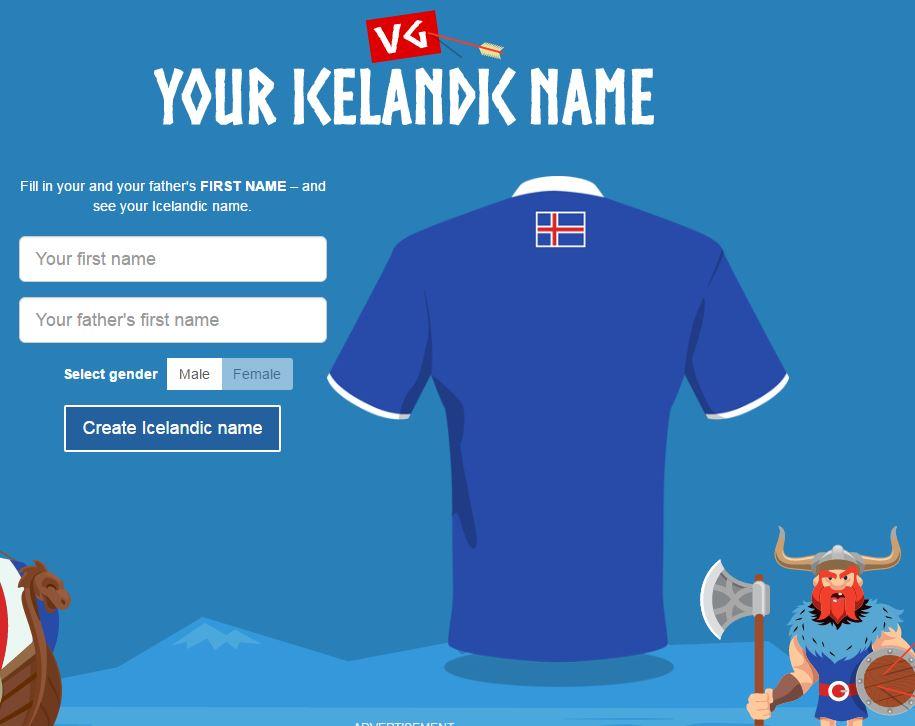 Eb 2016: rápörgött a net – önnek is van izlandi neve, nézze meg!