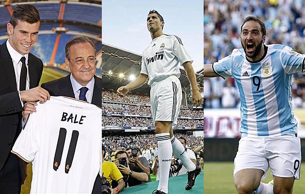 Átigazolás: csak Bale és CR volt drágább Higuaínnál – TOP 10