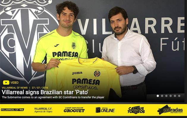 La Liga: Pato n�gy �vre �rt al� a Villarrealhoz