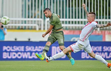 BL: megint Nikolics! A Legia �sszes g�lj�t a magyar szerzi