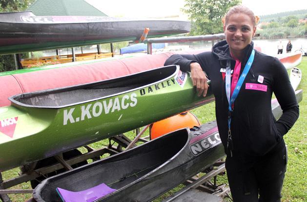 Kajak-kenu: a sport�g magyar kir�lyn�je bejelentette visszavonul�s�t