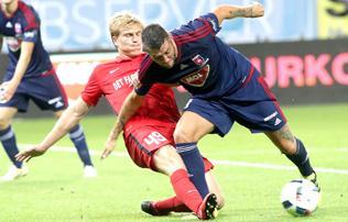 A Midtjylland gy�zni tudott Felcs�ton, bajban a Videoton