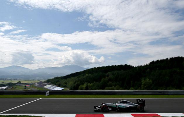 F1: Rosberg k�rrekorddal Hamilton el�tt Ausztri�ban
