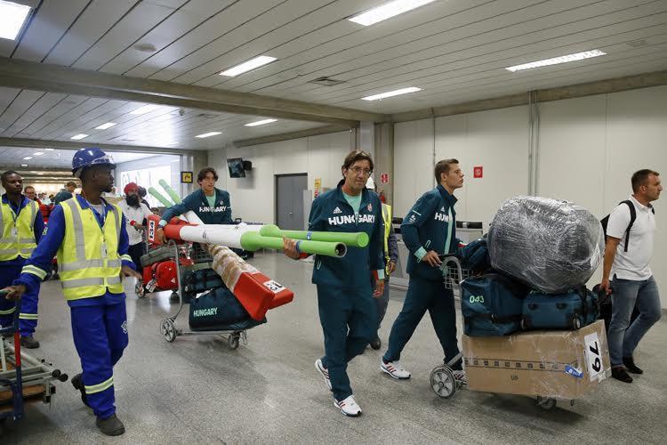 Rio 2016: megérkezett a legnagyobb magyar küldöttség az olimpiára – képek!