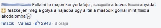 """Kép: """"Te, majomkenyérfa-fejű!"""" – Fellainit szétszedik a magyar trollok"""