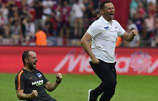 Bundesliga: őrült végjáték Berlinben – győzött a Hertha!