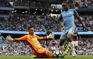 PL: az er�s kezd�s ellen�re sz�ken nyert a Manchester City