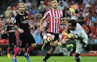 La Liga: a bilba�i es�ben Rakitic sz�ll�totta a Barcelona pontjait